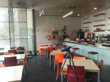 Mejora de las condiciones acústicas en Restaurante-Cafetería